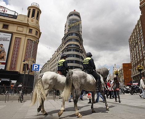 El centro de Madrid se verá libre de vehículos contaminantes. | Sergio González
