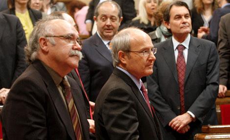 Montilla y Mas han salvado el acuerdo 'in extremis' | Efe