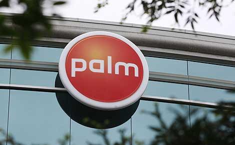 Vista del exterior de las oficinas centrales de Palm en Sunnyvale. | Reuters