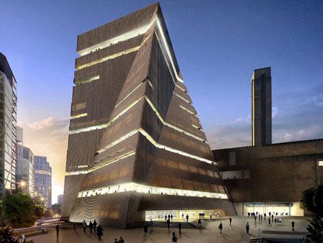 Recreación virtual de la futura Tate Modern.   El Mundo