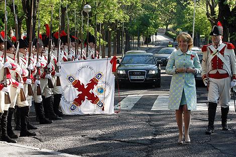 Homenaje a los caídos en la defensa de Madrid en 1812. | D. Sinova