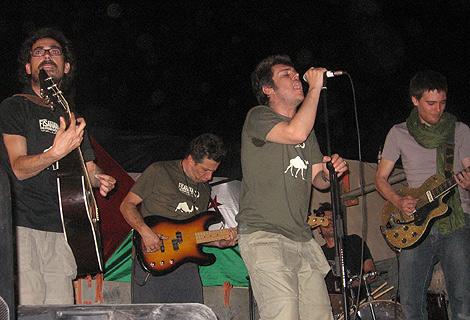 Ferreiro durante su actuación. | Foto: R.Q