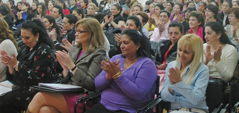 Acto de la Asociación de Mujeres Gitanas.   F.E.