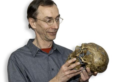 El investigador alemán Svante Pääbo, director del proyecto del genoma. |SCIENCE