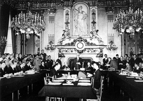La declaración de Schuman, el 9 de mayo de 1