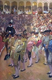 Cartel de la exposición 'Visión de España'.
