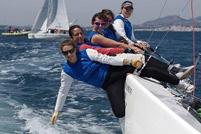La tripulación de Echegoyen. | RCNC