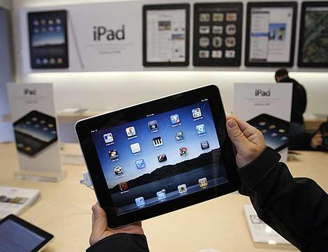 Un iPad el día de su lanzamiento en EEUU, el 3 de abril. | AP