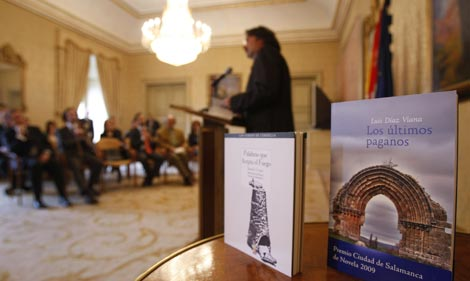 Obras galardonadas con los Premios 'Ciudad de Salamanca'. | Enrique Carascal