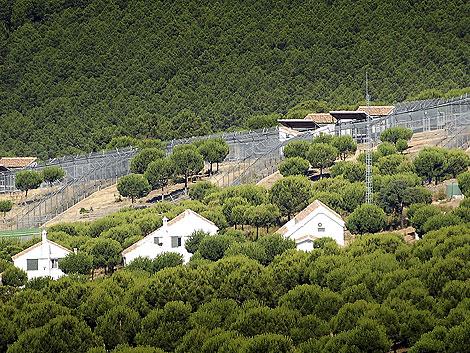 El centro de cría de linces en cautividad de La Olivilla, en Sierra Morena. | Efe