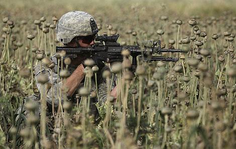 Un soldado estadounidense en Afganistán. | AP