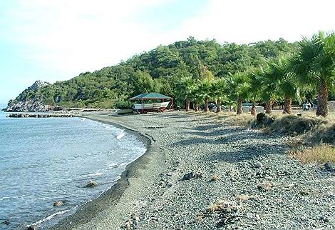 Playa privada del complejo hotelero. | Hotel Kosar