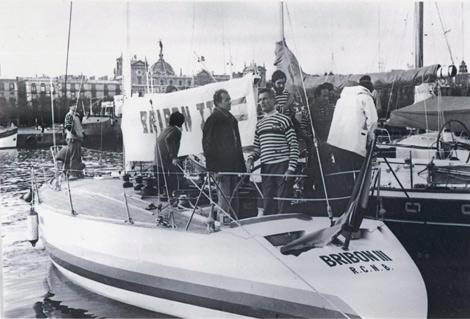 El Bribón III de Don Juan Carlos, Guasch y Gorostegui, en Barcelona en 1981. | Efe