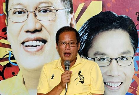 El senador y candidato presidencial Benigno Aquino III, en Manila. | Reuters