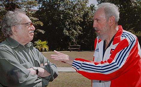 Gabriel García Márquez y Fidel Castro, en 2007. | Efe