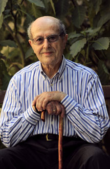El director portugués, Manoel de Oliveira.   Santi Cogolludo