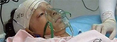 El niño de ocho años, en el hospital. | Ap