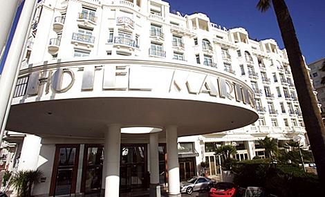 la fachada del Martínez de Cannes. | EL MUNDO.es
