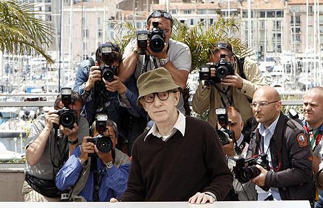 Woody Allen, en la alfombra roja de Cannes. | AP
