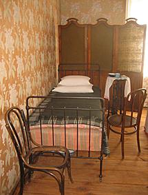La cama en la que murió Tolstoi. | D. U.