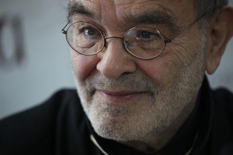 El dramaturgo, Fernando Arrabal, en una presentación el año pasado. | Antonio M. Xoubanova