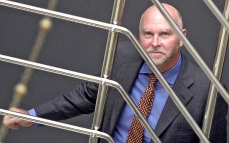 Craig Venter fotografiado durante una visita a Madrid. | Quique Fidalgo