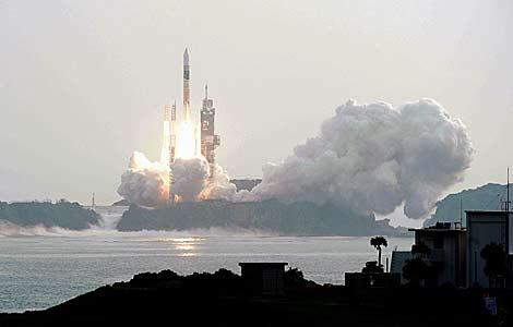 El cohete japonés despega de la base de Tanegashima. | Reuters