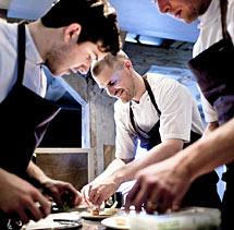 Tres cocineros de Noma. | Efe