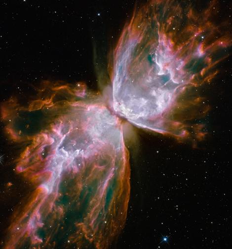 Nebulosa NGC6302 'La Mariposa'. | | NASA, ESA, HST