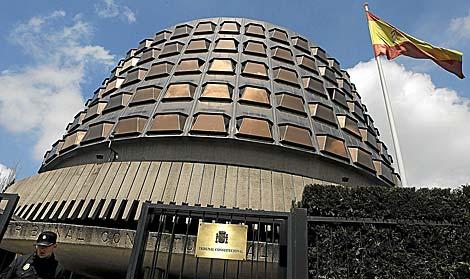 Fachada del Tribunal Constitucional. | Óscar Monzón