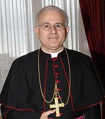 El secretario de la Conferencia Episcopal, Mariano Crociata. | Parroquia di S. Pietro