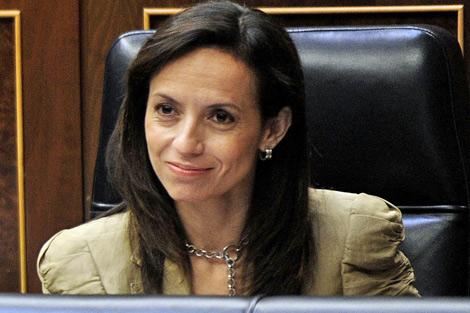 Beatriz Corredor en el Congreso de los Diputados. | Bernardo Díaz