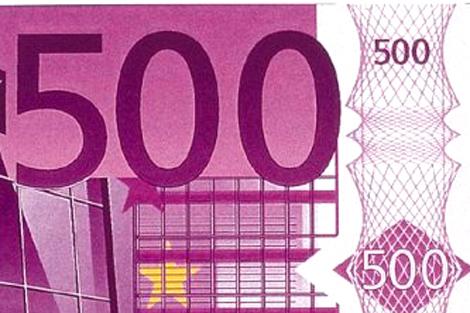El codiciado billete de 500 euros. | El Mundo