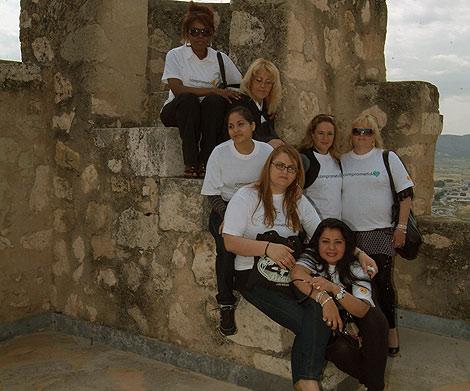 Las participantes de la iniciativa de reinserción laboral. | E.M.