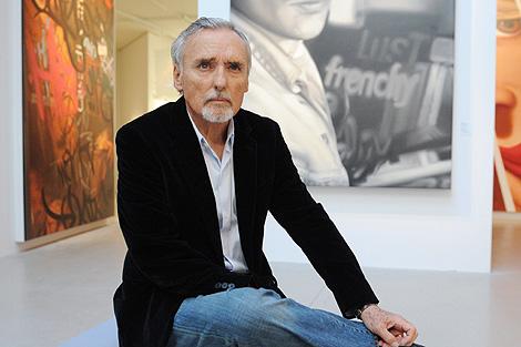 Hopper, en una exposición sobre su vida en París en 2008. | Afp