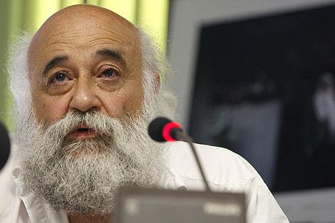 El presidente de la ONG Cultura, Paz y Solidaridad, Manuel Espinar.   Efe