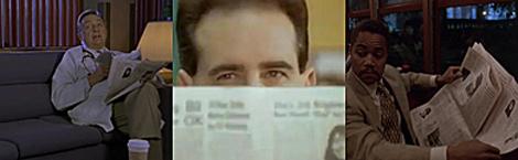 El diario en 'Scrubs', 'Power Rangers' y en la película 'Nido de cuervos'.