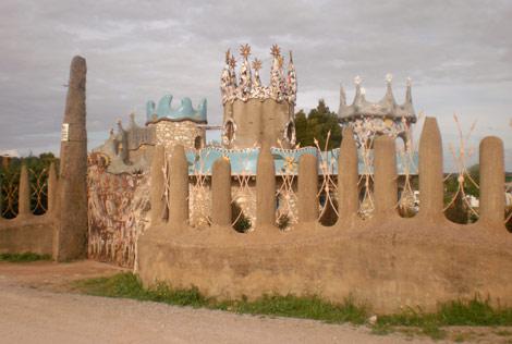 El 'Capricho de Cotrina' está ubicado en Los Santos de Maimona (Badajoz). | F. R.