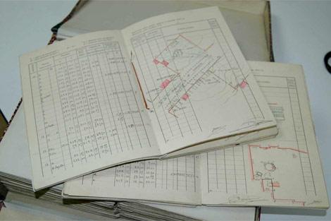 Imagen de algunos de los documentos que forman la base documental. | ELMUNDO.es