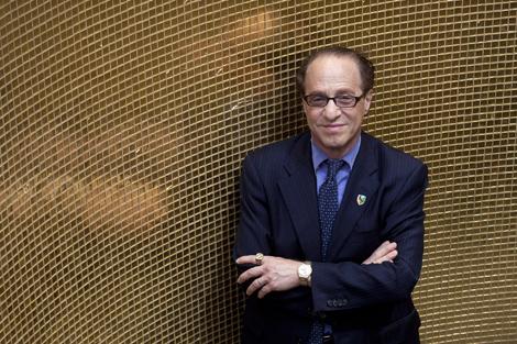 El científico estadounidense, durante su visita a Madrid. | Óscar Monzón.