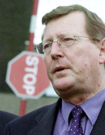 David Trimble. | AP