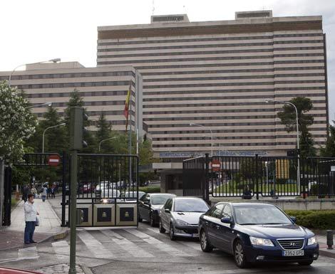 El hospital militar Gómez Ulla, situado en Carabanchel. | Óscar Monzón
