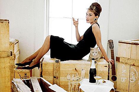 Audrey Hepburn, en la piel de Holly Golightly.  