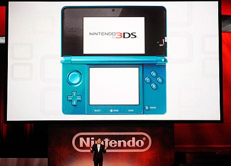 Presentación de la nueva 3DS. | Reuters