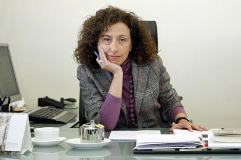 Nieves Huertas, presidenta de la SPA, en su despacho. | Sergio Enríquez