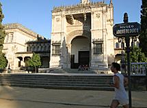 El hoy museo Arqueológico.
