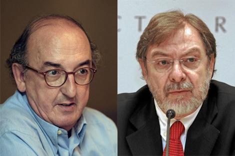 Jaume Roures y Juan Luis Cebrián.