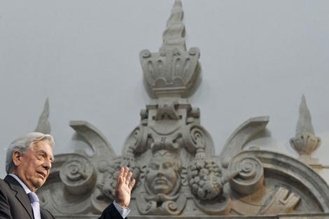 Mario Vargas Llosa, durante su conferencia. | Foto: Efe