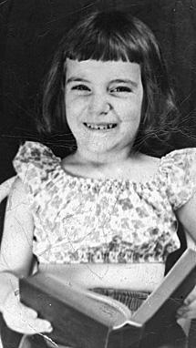 Patti Smith, de pequeña. |