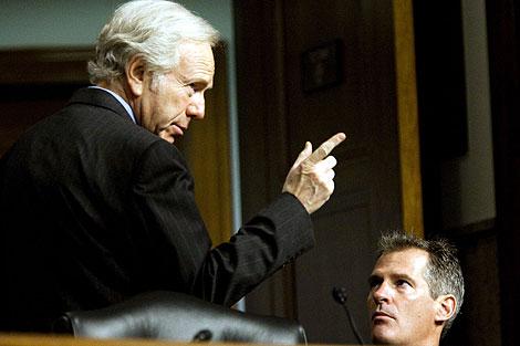 Lieberman, mentor de la propuesta.   Ap